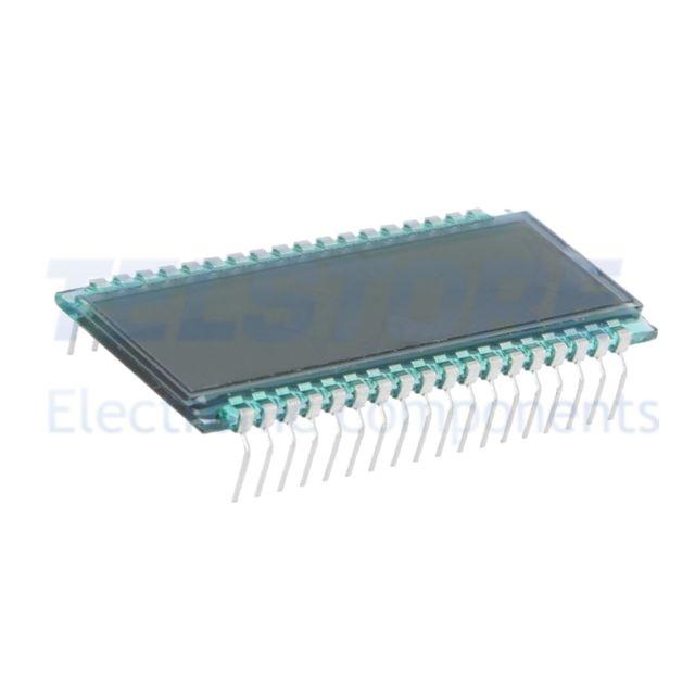 1pcs  Display LCD digitale STN Positive Nr.cifre 8 Carattere 7mm TELSTORE