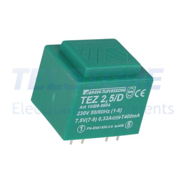1pcs  Trasformatore incapsulato 4VA 230VAC 15V 15V Montaggio PCB TELSTORE