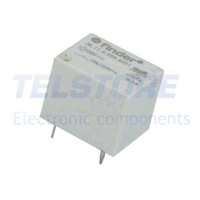 1pcs  Relè elettromagnetico SPDT Ubobina 12VDC 1A//120VAC 2A//24VDC TELSTORE