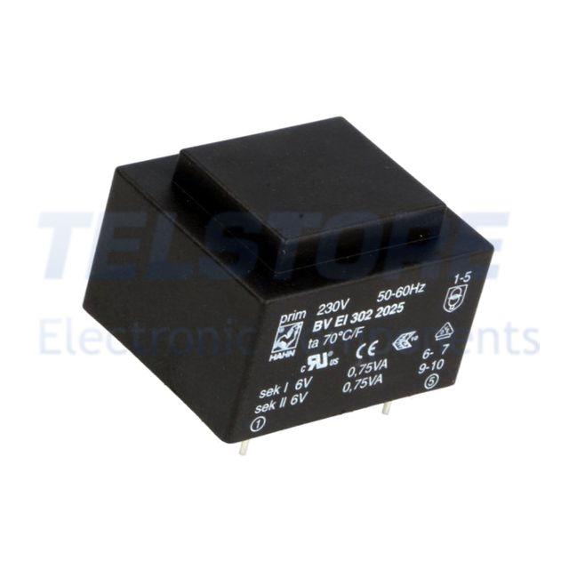 1-pcs-BVEI3022025-Trasformatore-incapsulato-1-5VA-230VAC-6V-6V-125mA-125mA-HAHN