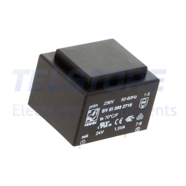 1-pcs-BVEI3032719-Trasformatore-incapsulato-1-5VA-230VAC-24V-63mA-81g-HAHN