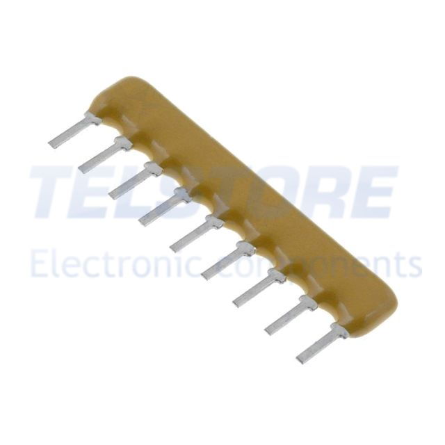 28pcs 4609X-101-103LF Retri resistive X 10k ohm Nr resistori 8 THT 0,2W ±2/% 100V